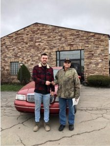 Congratulations to Roy Lowe for winning the Spin To Win Free Car