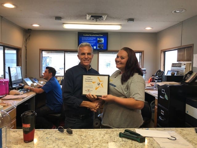 We congratulate Tiffany Jones for Receiving the most Google reviews for August 2018