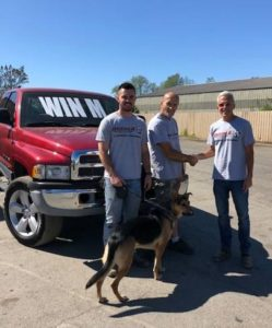 Congratulations to our Customer Appreciation truck raffle winner William K Roberts!