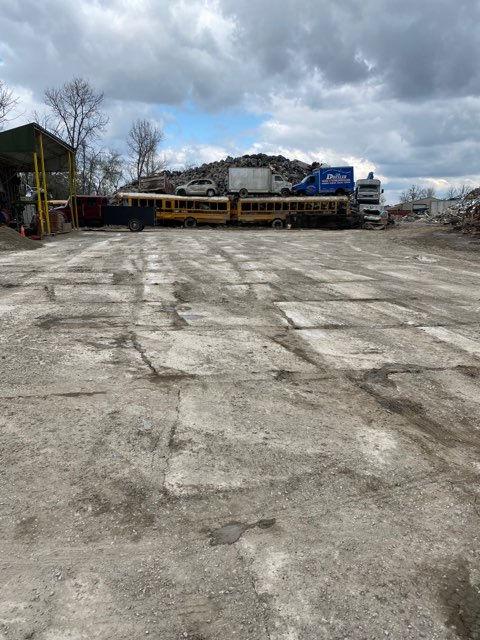 Scrap concrete area - 1
