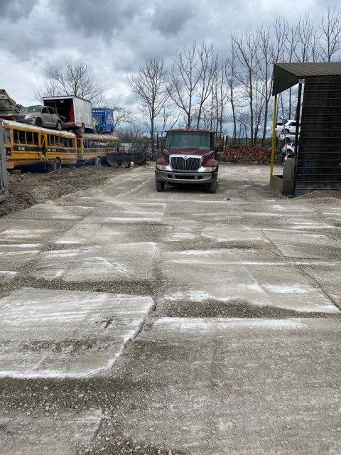 Scrap concrete area - 2