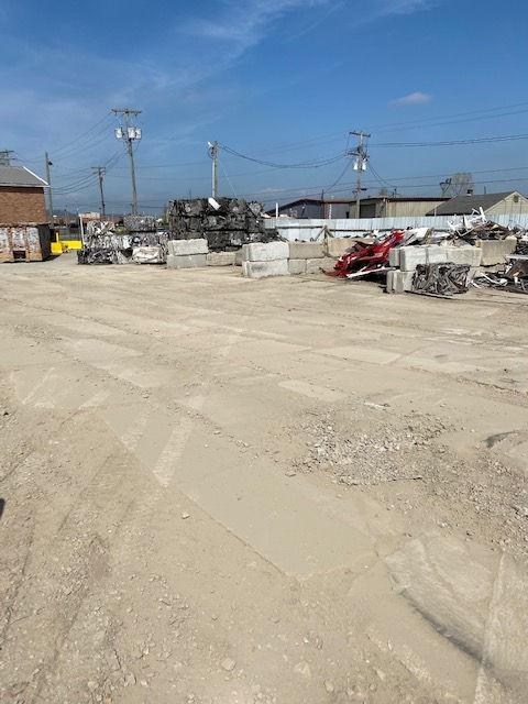 Scrap concrete area - 7