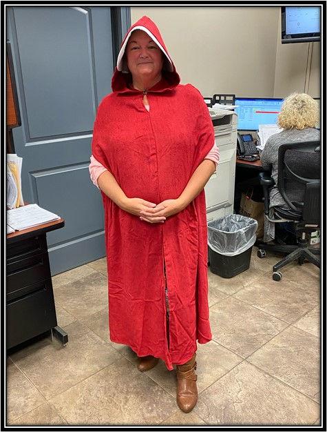 Lisa Patton as a Handmaid