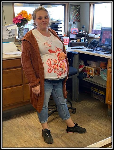 Tiffany Jones as Zombie Baby Momma